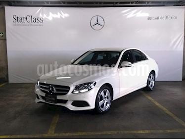 Foto venta Auto usado Mercedes Benz Clase C 180 CGI (2017) color Blanco precio $399,000