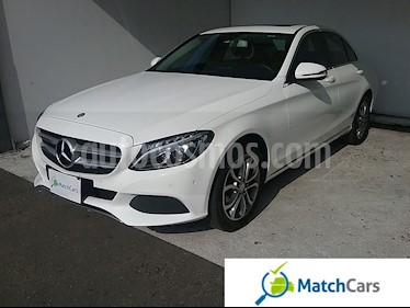 Foto venta Carro usado Mercedes Benz Clase C 180 Limited Plus (2017) color Blanco Glaciar precio $89.990.000
