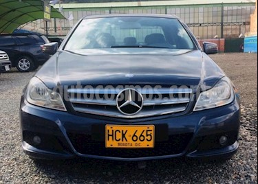 Mercedes Benz Clase C 180 Limited Plus usado (2013) color Azul Oscuro precio $54.500.000