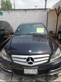 Foto Mercedes Benz Clase C 200 Aut usado (2013) color Negro Obsidiana precio $244,800