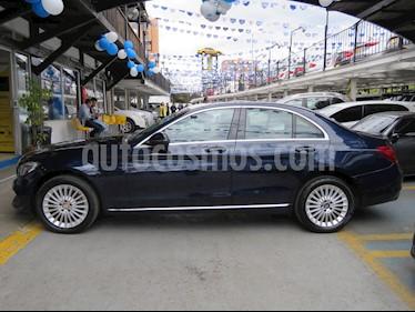 Mercedes Benz Clase C 200 CGI Avantgarde usado (2017) color Azul precio $93.900.000