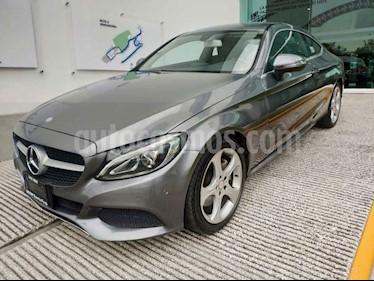 Foto venta Auto usado Mercedes Benz Clase C 200 CGI Coupe Aut (2017) color Gris precio $415,000