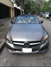 Foto venta Auto usado Mercedes Benz Clase C 200 CGI Coupe Aut (2018) color Gris precio $620,000