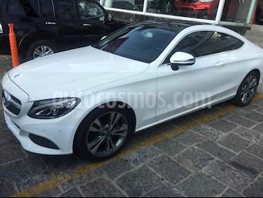 Mercedes Benz Clase C 200 CGI Coupe Aut usado (2018) color Blanco precio $530,000