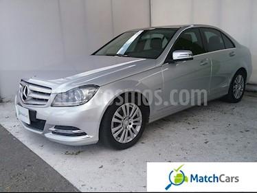 Foto venta Carro usado Mercedes Benz Clase C 200 CGI Elegance (2012) color Plata precio $61.990.000