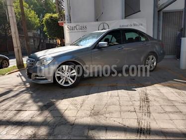 Foto venta Auto usado Mercedes Benz Clase C 200 CGI Exclusive Aut (2013) color Gris precio $248,900
