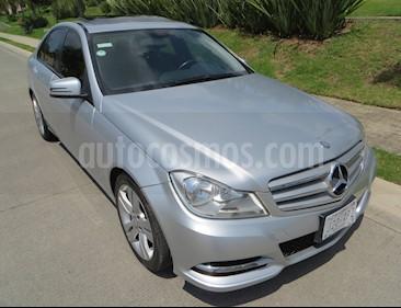 Mercedes Benz Clase C 200 CGI Exclusive Aut usado (2013) color Plata precio $263,800