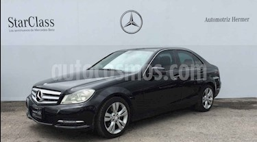 Mercedes Benz Clase C 200 CGI Exclusive Aut usado (2013) color Negro precio $229,900