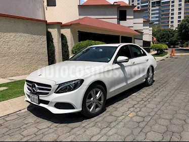 Foto Mercedes Benz Clase C 200 CGI Exclusive Aut usado (2016) color Blanco precio $385,000