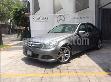 foto Mercedes Benz Clase C 200 CGI Exclusive Aut usado (2012) color Gris precio $235,000