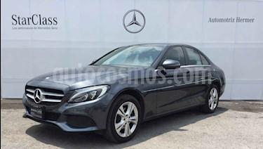 Foto venta Auto usado Mercedes Benz Clase C 200 CGI Exclusive Aut (2017) color Gris precio $389,900