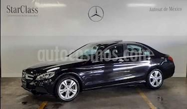 Mercedes Benz Clase C 200 CGI Exclusive Aut usado (2018) color Negro precio $499,000