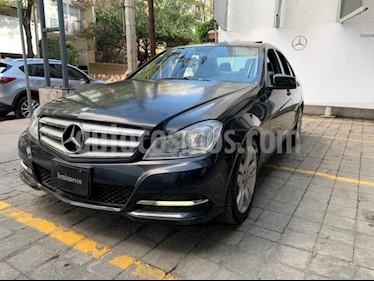 Mercedes Benz Clase C 200 CGI Exclusive Aut usado (2013) color Gris precio $240,000