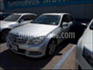 Mercedes Benz Clase C 200 CGI Exclusive Aut usado (2013) color Plata precio $225,000