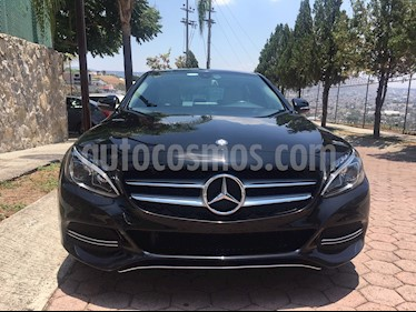 Foto Mercedes Benz Clase C 200 CGI Exclusive Plus Aut usado (2015) color Negro Obsidiana precio $340,000