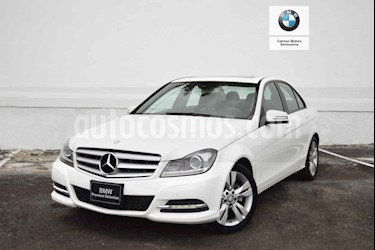Mercedes Benz Clase C 200 CGI Exclusive Plus Aut usado (2014) color Blanco precio $250,000