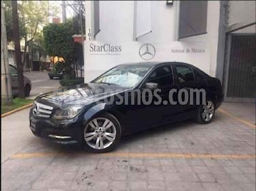 Foto venta Auto usado Mercedes Benz Clase C 200 CGI Exclusive Plus Aut (2014) color Negro precio $290,000