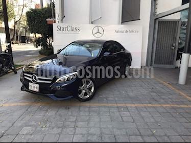 Foto venta Auto Seminuevo Mercedes Benz Clase C 200 CGI Exclusive (2016) color Azul precio $390,000