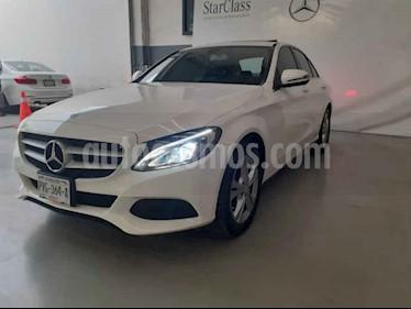 Foto venta Auto usado Mercedes Benz Clase C 200 CGI Exclusive (2016) color Blanco precio $365,000