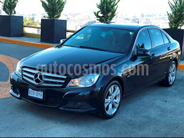 Mercedes Benz Clase C 200 CGI Exclusive usado (2012) color Negro Obsidiana precio $190,000