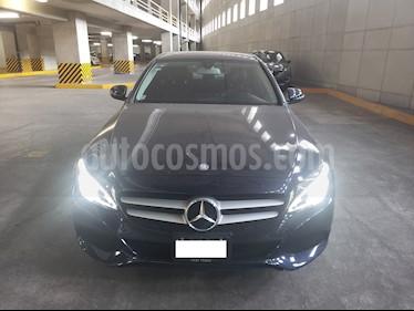 Foto venta Auto usado Mercedes Benz Clase C 200 CGI Exclusive (2016) color Azul Tanzanita precio $310,000