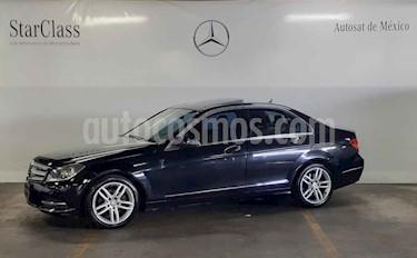 Foto venta Auto usado Mercedes Benz Clase C 200 CGI Sport Aut (2013) color Gris precio $219,000