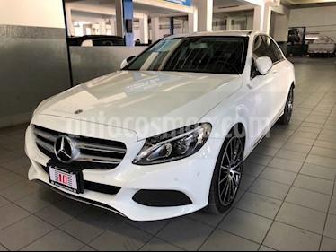Foto venta Auto usado Mercedes Benz Clase C 200 CGI Sport Aut (2018) color Blanco precio $465,000