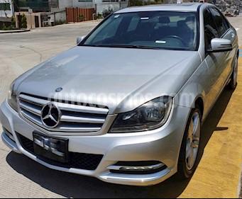 Mercedes Benz Clase C 200 CGI Sport Aut usado (2013) color Plata precio $225,000