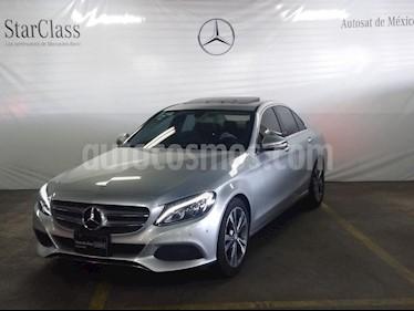 Foto venta Auto usado Mercedes Benz Clase C 200 CGI Sport Aut (2017) color Plata precio $449,000