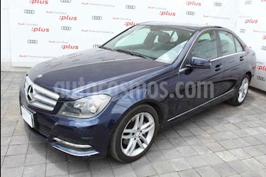 Foto venta Auto usado Mercedes Benz Clase C 200 CGI Sport Aut (2013) color Azul precio $225,000