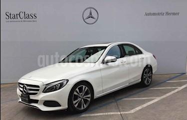Foto venta Auto usado Mercedes Benz Clase C 200 CGI Sport Aut (2018) color Blanco precio $499,900