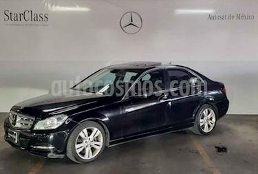 Mercedes Benz Clase C 200 CGI Sport Aut usado (2013) color Gris precio $234,000