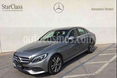 Foto venta Auto usado Mercedes Benz Clase C 200 CGI Sport Aut (2017) color Gris precio $429,900