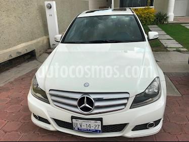 Mercedes Benz Clase C 200 CGI Sport Aut usado (2012) color Blanco precio $205,000