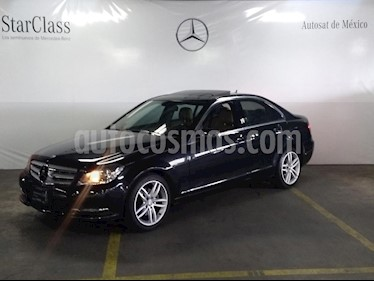 Foto venta Auto Seminuevo Mercedes Benz Clase C 200 CGI Sport Aut (2013) color Gris precio $249,000