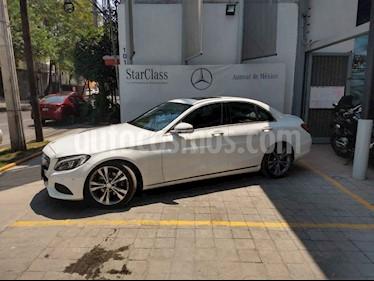 Foto venta Auto usado Mercedes Benz Clase C 200 CGI Sport Aut (2017) color Blanco precio $445,000