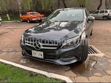 Mercedes Benz Clase C 200 CGI Sport Aut usado (2014) color Gris precio $310,000