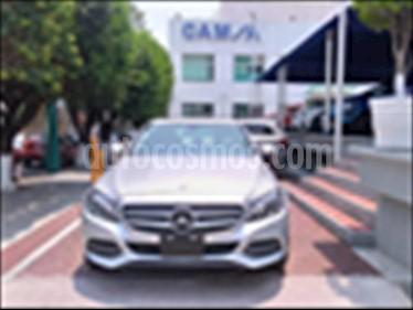 Mercedes Benz Clase C 200 CGI Sport Aut usado (2015) color Plata precio $349,900