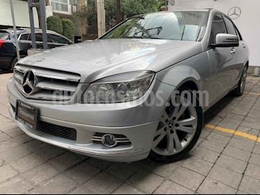 Mercedes Benz Clase C 200 CGI Sport Aut usado (2011) color Plata precio $195,000