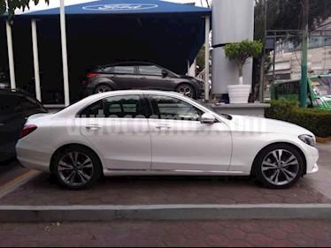 Foto venta Auto usado Mercedes Benz Clase C 200 CGI Sport (2018) color Blanco precio $519,000