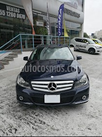 Mercedes Benz Clase C 200 CGI Sport usado (2012) color Azul Tanzanita precio $201,000