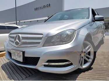 Foto venta Auto usado Mercedes Benz Clase C 200 CGI Sport (2013) color Plata Iridio precio $260,000