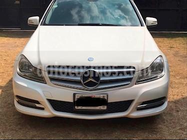 Mercedes Benz Clase C 200 CGI Sport usado (2013) color Blanco precio $245,000
