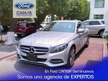 Foto venta Auto usado Mercedes Benz Clase C 200 CGI Sport (2015) color Plata precio $349,900