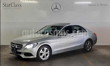 Mercedes Benz Clase C 200 Exclusive Aut usado (2016) color Gris precio $389,000
