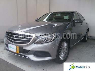 Foto venta Carro usado Mercedes Benz Clase C 200 Exclusive (2016) color Plata Iridio precio $90.990.000