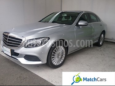 Foto venta Carro usado Mercedes Benz Clase C 200 Exclusive (2018) color Plata Iridio precio $104.990.000