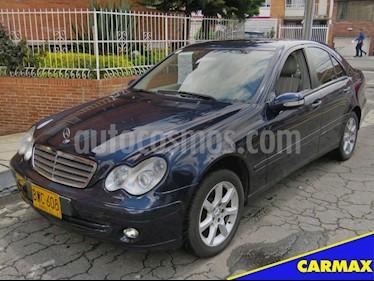 Foto venta Carro usado Mercedes Benz Clase C 2006 (2006) color Azul precio $33.900.000