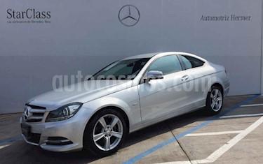 Foto venta Auto usado Mercedes Benz Clase C 250 CGI Coupe Aut (2012) color Plata precio $284,000