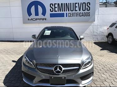 Foto venta Auto Seminuevo Mercedes Benz Clase C 250 CGI Coupe (2018) color Gris precio $620,000